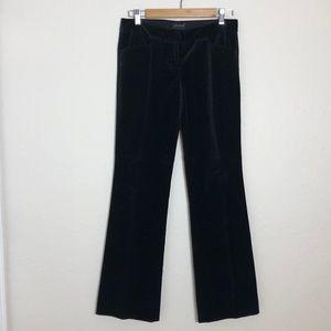 The Limited > Drew Fit > Black Velvet Dress Pants